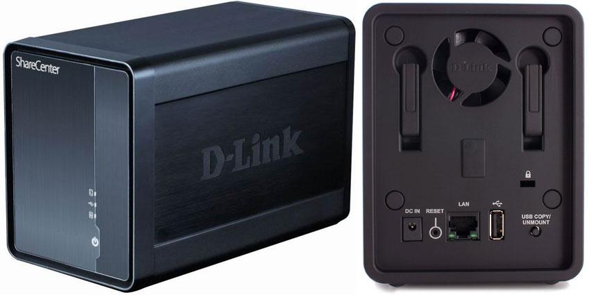 Le DNS-325, crédit: D-LINK